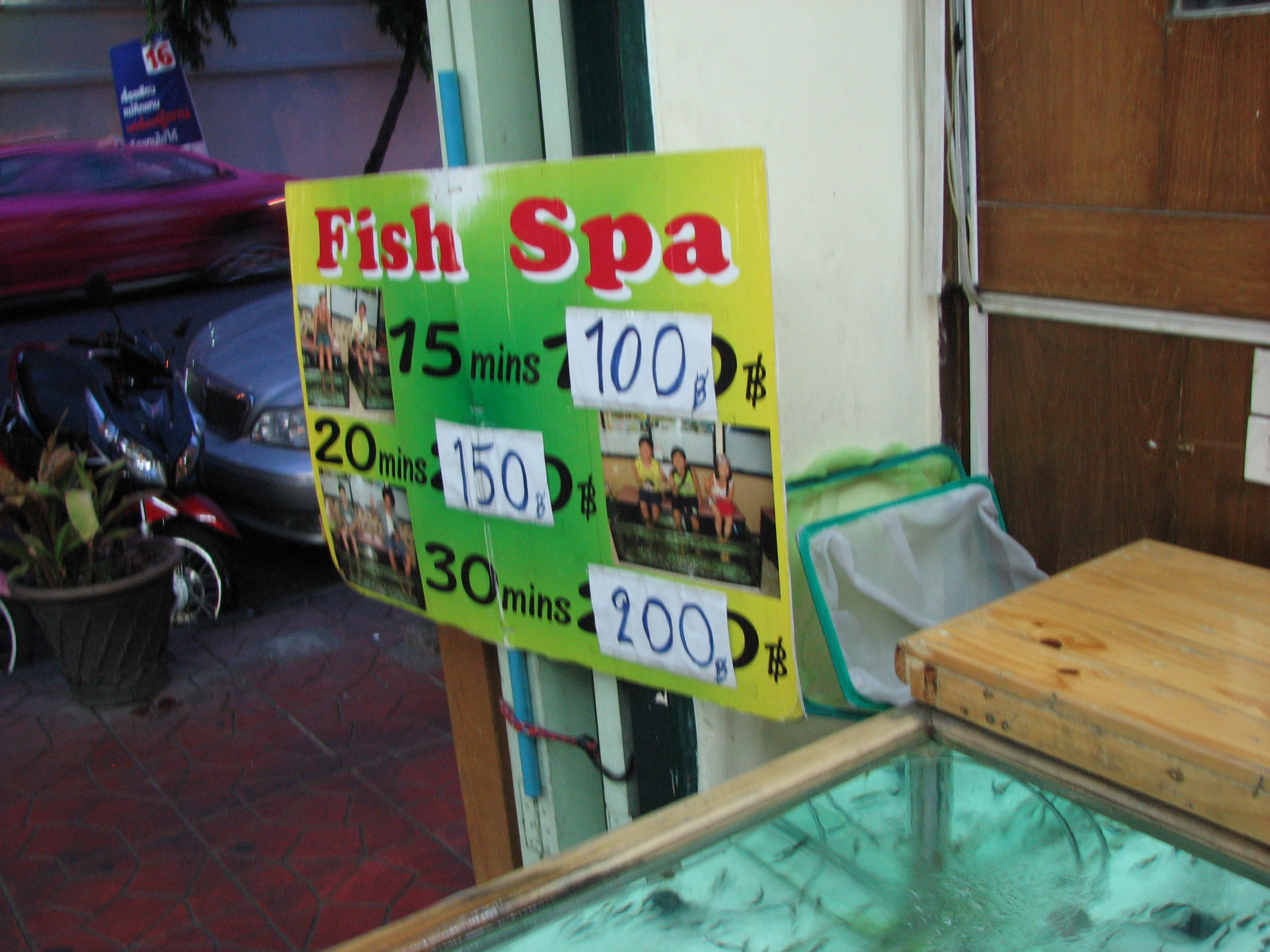 301 moved permanently for Fish spa near me