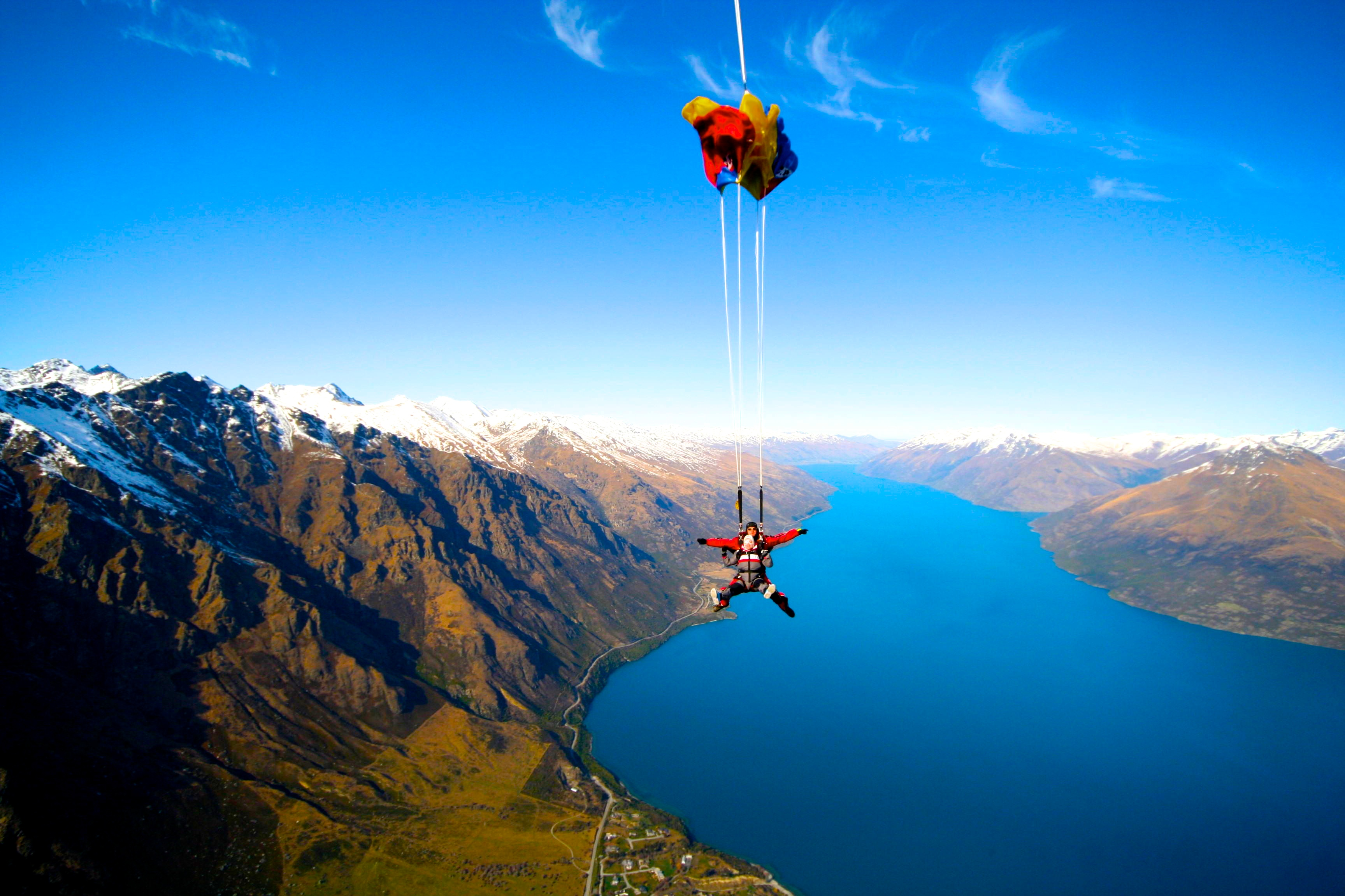 Skydiving In Queenstown New Zealand The Bucket List Traveller